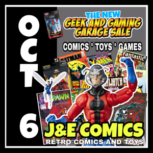 THE NEW GEEK AND GAMING GARAGE SALE