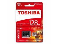 Micro SD Toshiba 128GB - 90MB/s
