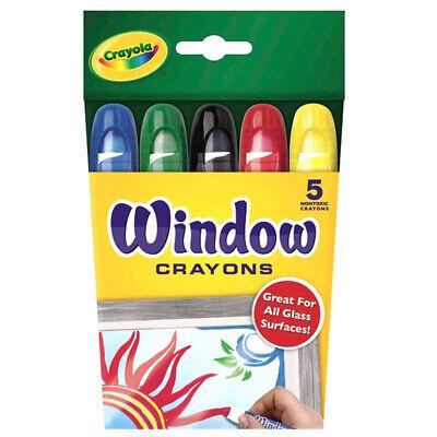 Crayola Window Crayons, 5 Count