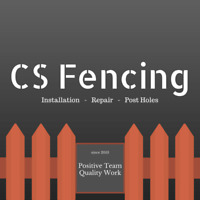 "CS FENCE REPAIR SERVICE ""CHEAPEST PRICES AROUND TOWN """