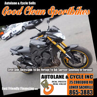 2011 Yamaha FZ8  Two Bros Exhaust, Power Commander MINT $5495 Bedford Halifax Preview