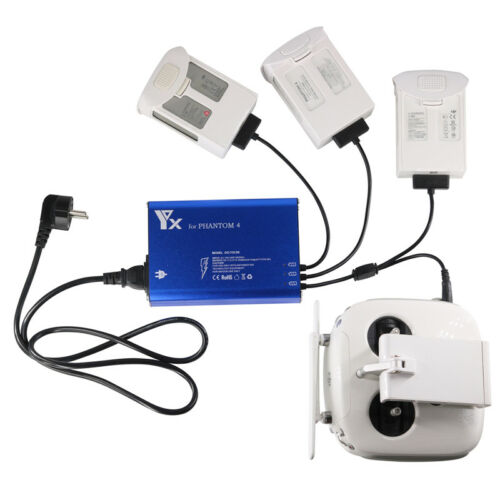 4 IN 1 Battery Charger Parallel Hub Charging for DJI Phantom 4 Pro Series Drone