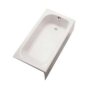 TOTO FBY1515RP12 Enameled Cast Iron Bathtub Right Hand Drain