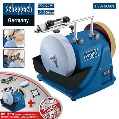 Scheppach Nass-Schleifsystem Tiger 2000S Nassschleifmaschine mit Zubehör