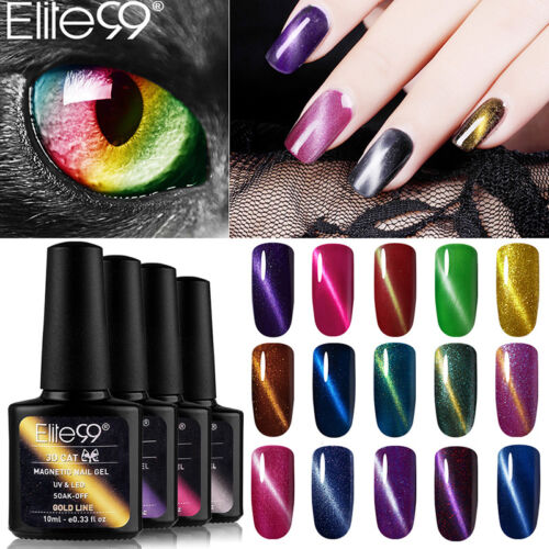 gel nail polish magnetic cat eye varnish