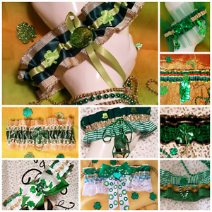 ST. Patrick's  Day  Garters!