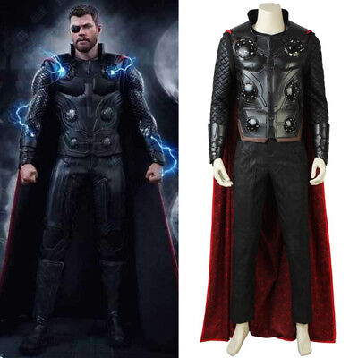 Thor Cosplay Costume Props The Avengers Infinity War Odinson Outfit Accessories](Avengers Outfit)