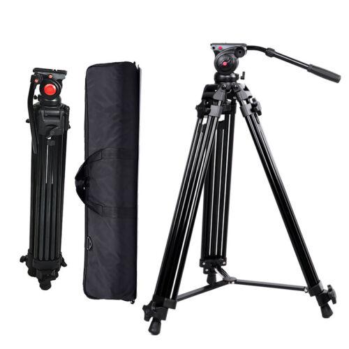 professional heavy duty dv video camera tripod