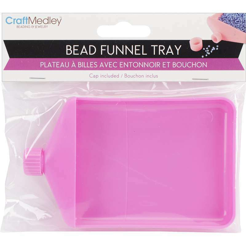 "Bead Funnel Tray 4.75""X3""X.625"" 775749118551"