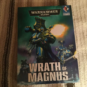 Warhammer 40k Thousand Sons lore book and codex