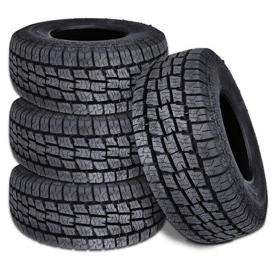 4 X New Lionhart Lionclaw ATX2 LT27565R20 126123S All Terrain Tires