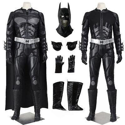 Batman The Dark Knight Rises Black Batman Cosplay - Batman Black Knight Kostüm
