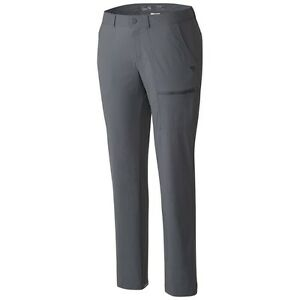Mountain Hardware Metropass Pant - size 2, color: grey