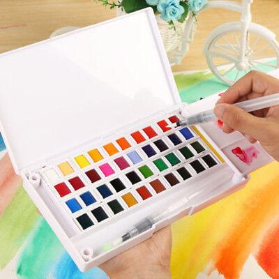 Farbige Aquarell (Superior Pigment Feste Aquarell Farben Set Farbige Bleistifte Fuer Zeichnung Neu)