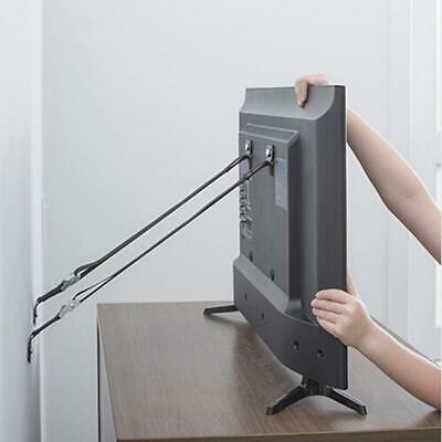 Baby Safety Furniture & TV Anti Tip Wall Straps Anchors Metal Child Q