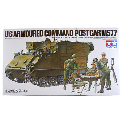 Tamiya 35071 US Armoured Command Post Car M577 Military Model Set (Scale 1:35)