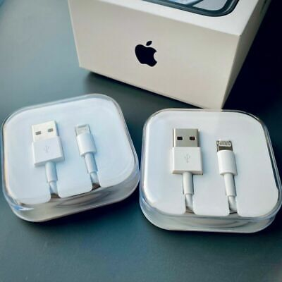 Apple iphone 2M 3M Lightning to USB Cable Charger Sync Lead for 6S 7 8 X XR SE