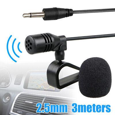 Best 2.5mm Jack Microphone Car Radio Stereo GPS Bluetooth Audio DVD Microphone