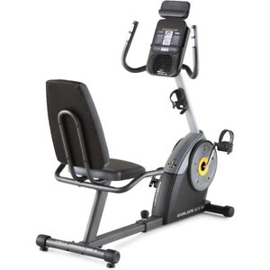 Gold's Gym Cycle Trainer 400R Recumbent Exercise Bike