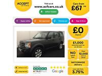 Land Rover Discovery 3 2.7TD V6 auto 2008MY HSE FROM £67 PER WEEK!