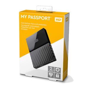 Western Digital 2TB My Passport Portable External Hard Drive