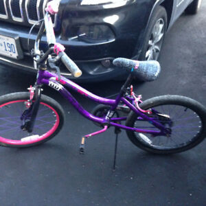 "Girl's ""Monster High"" Bike  GUC"