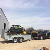 Lot Clearing/ Backhoe Services / Skid Steer Services