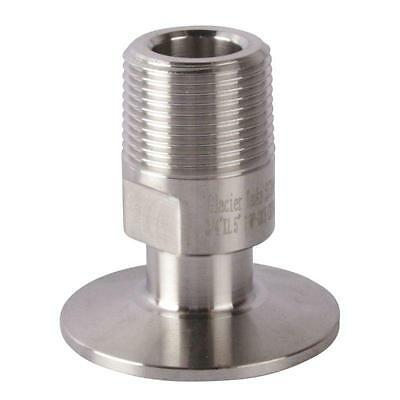 Npt Adapter Tri Clamp 2 Inch X Mnpt 34 - Sanitary Ss304