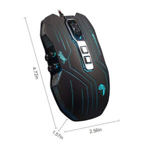 Prunend Gaming Mouse Wired LED