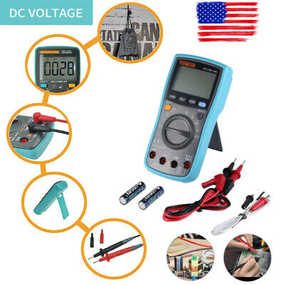 Us Digital Portable Counts Auto Ranging Multi Tester Measuring Backlight Display
