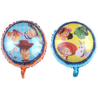 4pcs Toy Story 18'' Foil Balloons For Kids - Toy Story Birthday Party Supplies