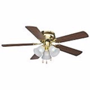 CHEAPEST LOWEST PRICE  Hugger Ceiling Fan, 5-Blade, 42-in GOOD