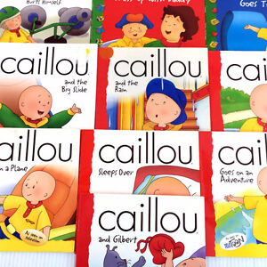 10 Caillou Picture Books Storybooks Popular Teacher Homeschool