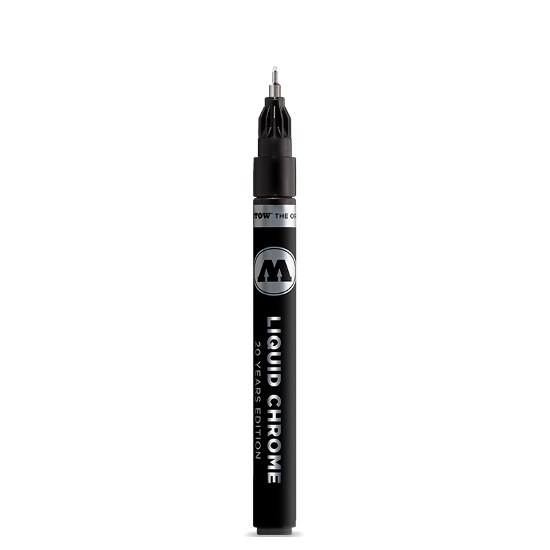 Molotow Liquid Chrome Paint Pump Marker -  1mm Acrylic Paint