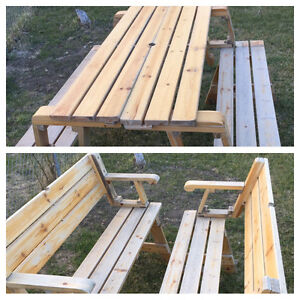 ✨Reduced✨Convertible picnic table