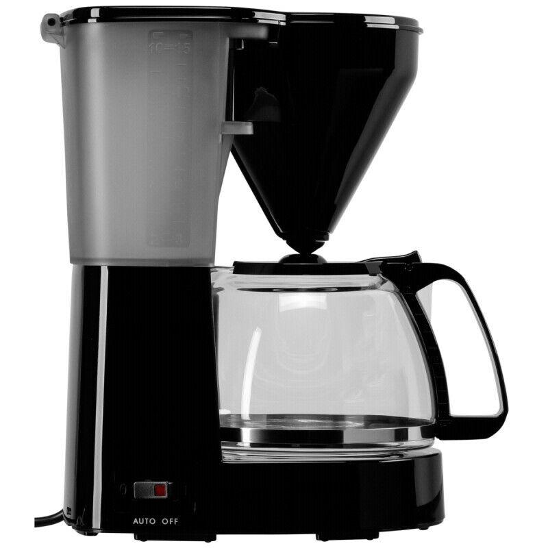 Melitta Filter Kaffeemaschine Easy New schwarz 10-15 Tassen Glaskanne