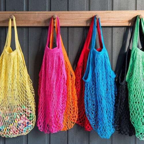 1 Ping Bag Reusable Grocery Bags Beach Mesh