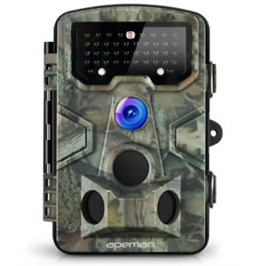 "12MP 1080P 2.4"" LCD Game, Trail, Hunting Camera"