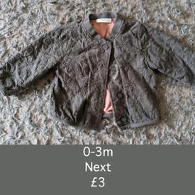 0-3m Next jacket