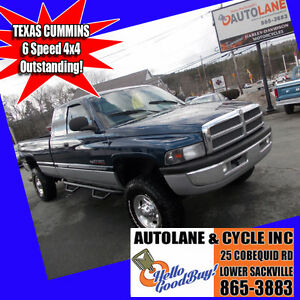 MUST SEE~ Texas Cummins Ram 2500 6 Speed 4x4 ~MUST SEE