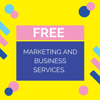 Get free Marketing & Business Dev Services for Small Businesses