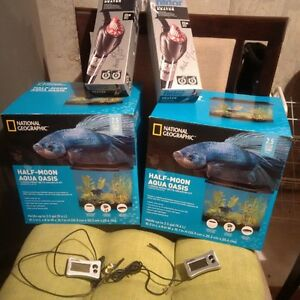 Aquariums/Heaters/Thermometers PLUS MORE