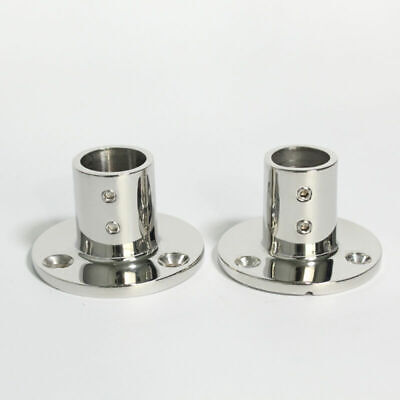 2X Boat Hand Rail Fitting 90 Degree 1