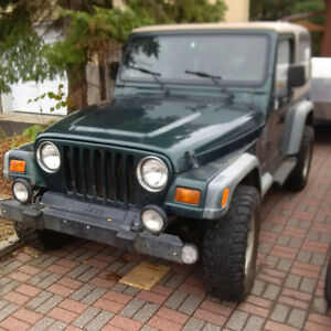 1999 Jeep TJ **REDUCED TO $3000