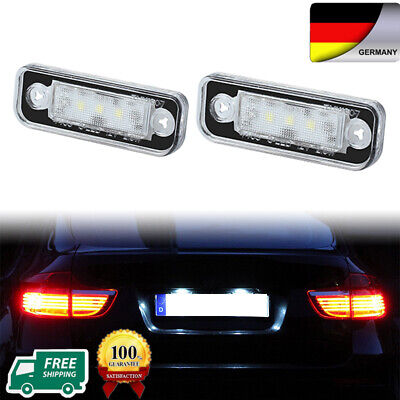 2PS Kennzeichenbeleuchtung LED für Mercedes W203 S203 W209 W211 S211 C219 R171