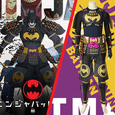 Batman Ninja Film Bruce Wayne Cosplay Kostüm Costume Outfit Full Set