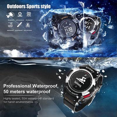 EB66 GPS Smart Wrist Watch Fitness Tracker Remote Camera Waterproof OLED Screen