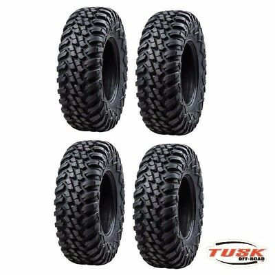 4-Tusk Terrabite Radial 8 Ply Utv Tire Set (4 Tires)  29x11-14 and  29x9-14