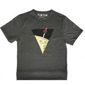 Tintin Rocket t-shirt  X-LARGE Official Tintin Product Moulinsart