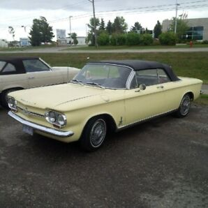 1964 Corvair Monza Spyder Convertible - Turbocharged!